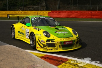 #150 Manthey Racing Porsche 997 GT3 R: Marc Lieb, Richard Lietz, Patrick Pillet