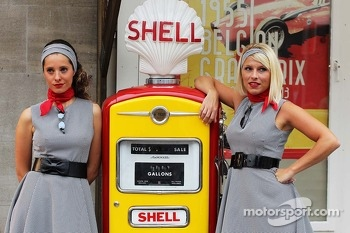 The Back In Time with Shell event