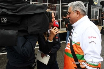 Dr Vijay Mallya, Sahara Force India F1 Team Owner
