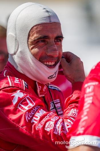 Dario Franchitti on the pole