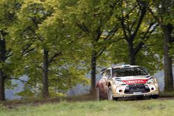 Mikko Hirvonen, Jarmo Lehtinen, Citroen DS3 WRC #2, Citroen Total Abu Dhabi World Rally Team