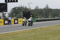 Alvaro Bautista, Go&Fun Honda Gresini and Valentino Rossi, Yamaha
