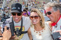 GoPro CEO Nick Woodman and Mario Andretti