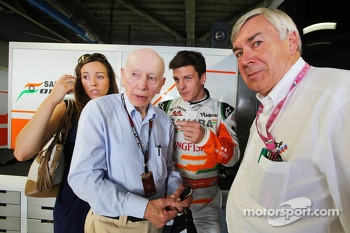 James Calado, Sahara Force India Third Driver with John Surtees