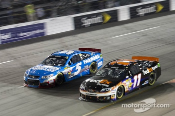 Kasey Kahne and Denny Hamlin