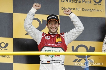 Second place Mike Rockenfeller, Audi Sport Team Phoenix, Audi RS 5 DTM