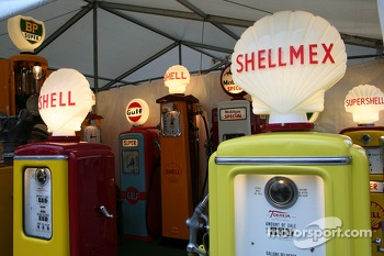 Vintage fuel pumps