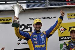 Round 24 Race Winner Andrew Jordan
