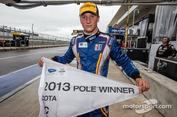 PC pole winner Renger van der Zande celebrates