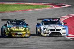 #11 JDX Racing Porsche 911 GT3 Cup: Mike Hedlund, Jan Heylen, #56 BMW Team RLL BMW Z4 GTE: Dirk Müller, John Edwards