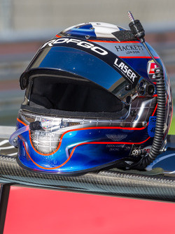 Jamie Campbell-Walter helmet