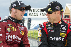 Jamie McMurray and Matt Kenseth