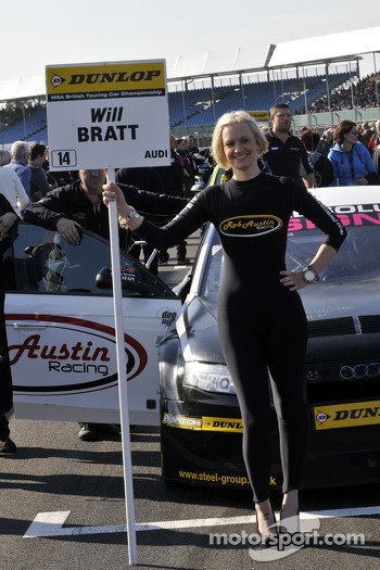 Grid Girl to Will Bratt