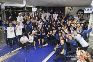 2021 champions Sébastien Ogier and Julien Ingrassia, Volkswagen Polo WRC, Volkswagen Motorsport
