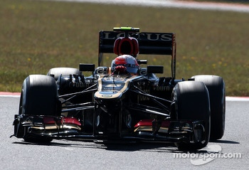 Romain Grosjean,  Lotus F1 Team  04