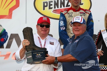 Chip Ganassi and A.J. Foyt