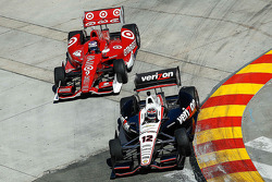 Will Power and Scott Dixon