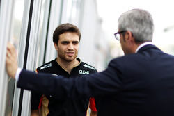 Jerome d'Ambrosio, Lotus F1 Team Third Driver with Alessandro Alunni Bravi, Driver Manager