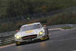 Michael Zehe, Marko Hartung, Christian Hohenadel, Rowe Racing, Mercedes-Benz SLS AMG GT3