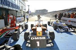 Race winner Felix Rosenqvist