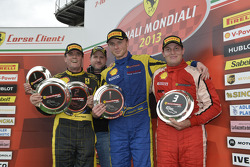 Europe Coppa Shell podium race 1