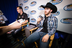 Championship contenders press conference: Sam Hornish Jr. and Austin Dillon