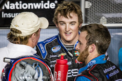 Championship victory lane: NASCAR Nationwide Series 2013 champion Austin Dillon celebrates with Richard Childress and brother Ty Dillon