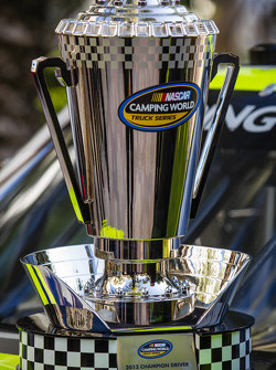 NASCAR Camping World Truck Series champion driver trophy