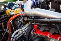 #2 Extreme Speed Motorsports HPD ARX-03b HPD engine detail