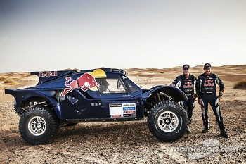 Carlos Sainz and Timo Gottschalk, Red Bull SMG Rally Team