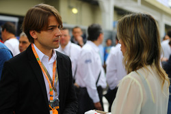 Augusto Farfus, wife of Felipe Massa, Ferrari