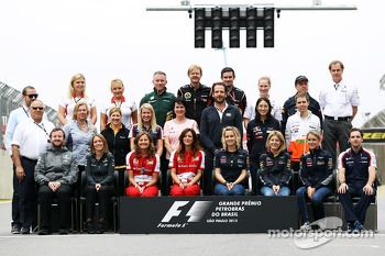 The Press Officers end of season group photograph