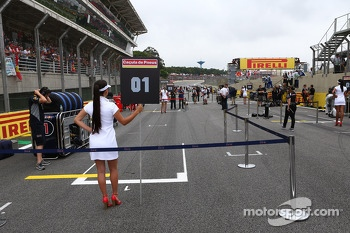 Pole position of the grid