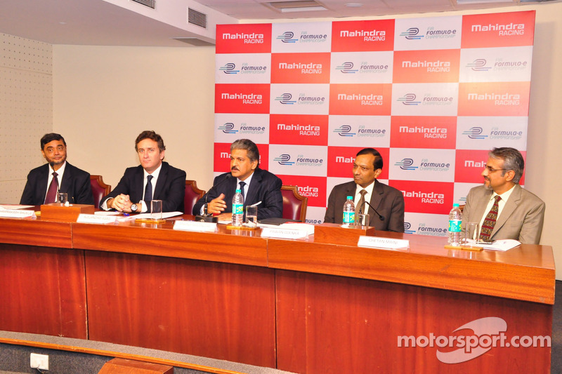 Mahindra Racing announcement