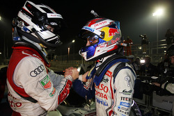 Marcel Fässler and winner Sebastien Buemi