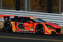 #55 Autobacs Racing Team Aguri Honda CR-Z: Takashi Kobayashi