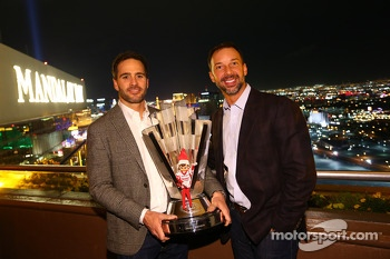 2013 champion Jimmie Johnson with crew chief Chad Knaus