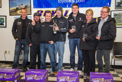 Third place in class: #08 GMG Racing 1 Audi R8-LMS: Michael McGrath, Drew Regitz, Alexandra Sabados, James Sofronas, Alex Welch