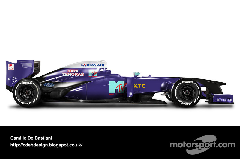 Formel-1-Auto im Retrodesign: Simtek 1995