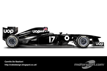 Retro F1 car - UOP Shadow 1975