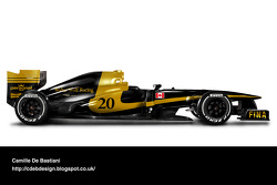 Fantasy retro F1 liveries