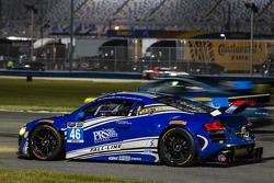 #46 Fall-Line Motorsports Audi R8 LMS: Charles Putnam, Charles Espenlaub, James Walker, Oliver Jarvis stopped on track