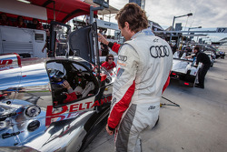 Markus Winkelhock and Katherine Legge discuss