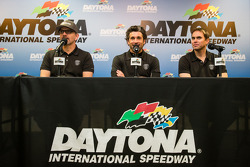 Dempsey Racing press conference: Joe Foster, Patrick Dempsey and Andrew Davis