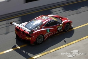 #458 GT Corse Ferrari 458 Italia GT3: Alexander Mattschull, Marco Seefried, Pierre Ehret, Pierre Kaffer, Vadim Kogay