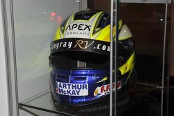 2012 BTCC Champion Gordon Sheddens helmet