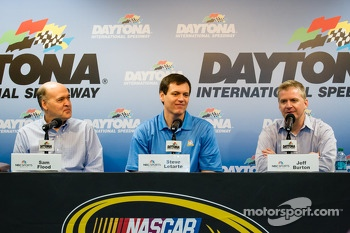 NBC Sports press conference: Sam Flood, Steve Letarte, Jeff Burton