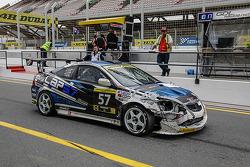 #57 Lap57 Racing Team Honda Coupe: Mohammed Al Owais, Umair Khan, Abdullah AlHammadi, Junichi Umemoto