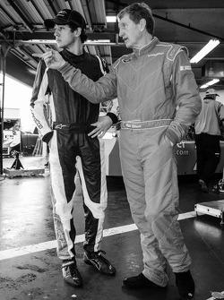 Chase Elliott and Bill Elliott