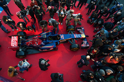 The unveiling of the Scuderia Toro Rosso STR9